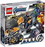 76143 Lego Super Heroes Мстители: Нападение на грузовик, Лего Супергерои Marvel
