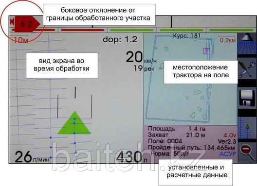 Бортовой навигационный комплекс Агронавигатор, фото 2
