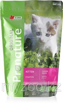 Pronature Original Kitten  Пронатюр Оригинал  корм для котят 340 гр