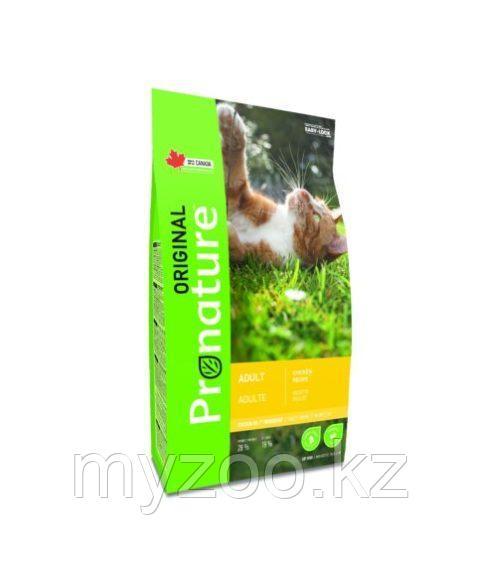 Pronature Original Adult  Пронатюр Оригинал  корм для кошек на курице 2,2 кг