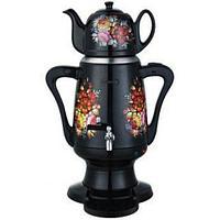 Cамовар-термопот электрический с керамическим чайником «Гжель» AQUAPROF KSW-2934 (Черный)