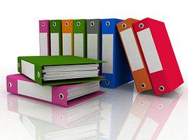 Папки для хранения архивных документов