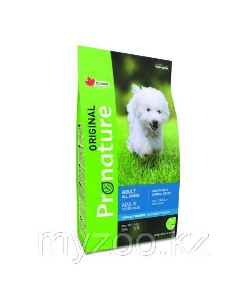 Pronature Original Adult All Breeds Пронатюр Оригинал корм для взрослых собак всех пород 11,3кг
