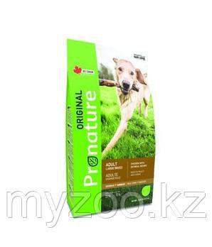 Pronature Original Adult Large Breeds Пронатюр Оригинал корм для взрослых собак крупных пород 15 кг