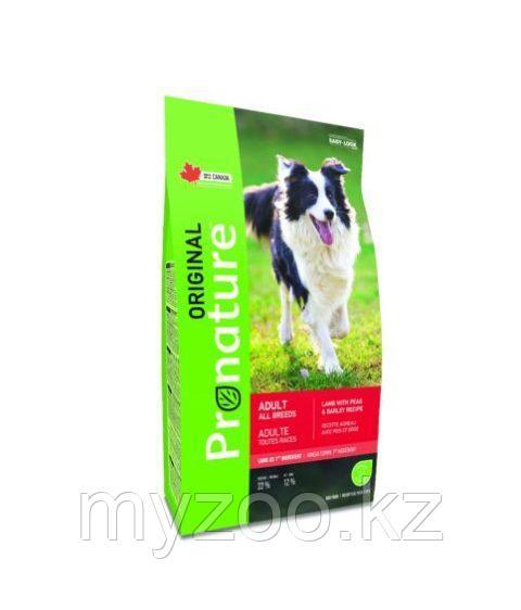 Pronature Original Adult All Breeds Пронатюр Оригинал корм для взрослых собак всех пород ягненок 2,2 кг