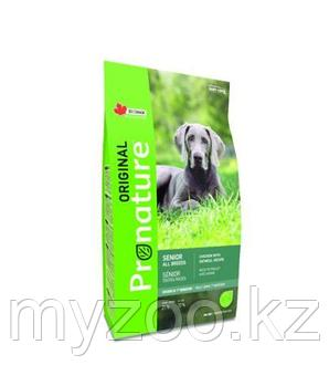 Pronature Original Senior Mature or Less Пронатюр Оригинал корм для стареющих собак всех пород 11,3кг