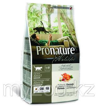 Pronature Holistic Adult Indoor сухой корм для кошек 340 гр