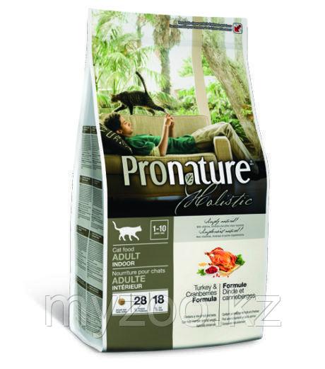 Pronature Holistic Adult Indoor сухой корм для кошек 5,4 кг