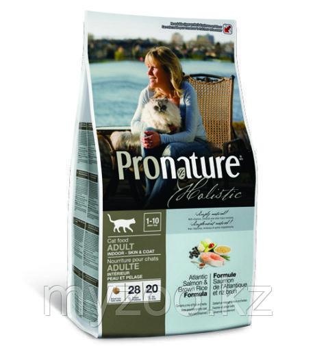 Pronature Holistic Adult Indoor сухой корм для кошек 400гр