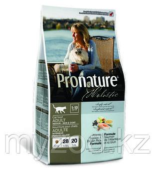 Pronature Holistic Adult Indoor сухой корм для кошек 2,7кг