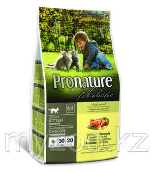 Pronature Holistic Kitten Growth сухой корм для котят 340 гр