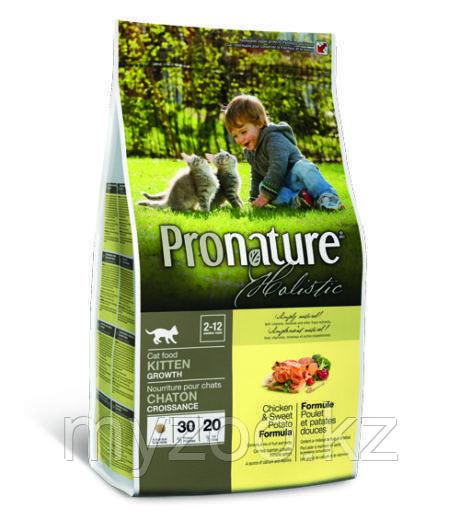 Pronature Holistic Kitten Growth сухой корм для котят 2,7 кг