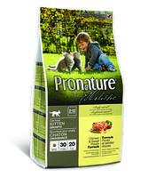 Pronature Holistic Kitten Growth сухой корм для котят 5,4кг