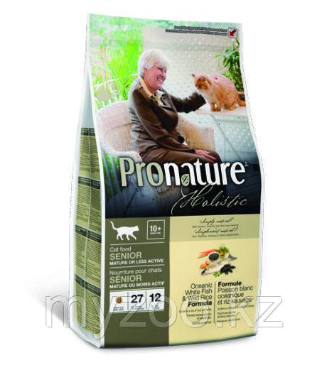 Pronature Holistic Senioсухой корм для пожилых кошек 2,7 кг