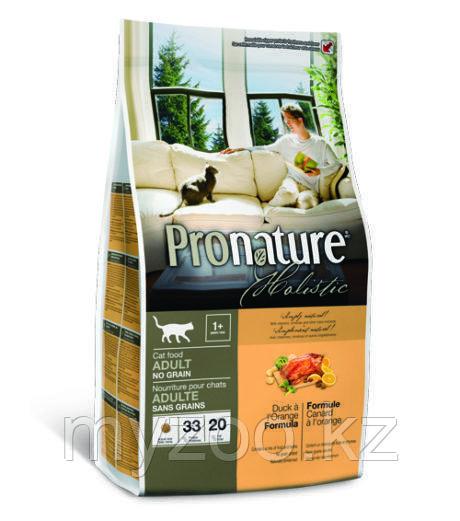 Pronature Holistic Adult Беззерновой сухой корм для взрослых кошек 340гр
