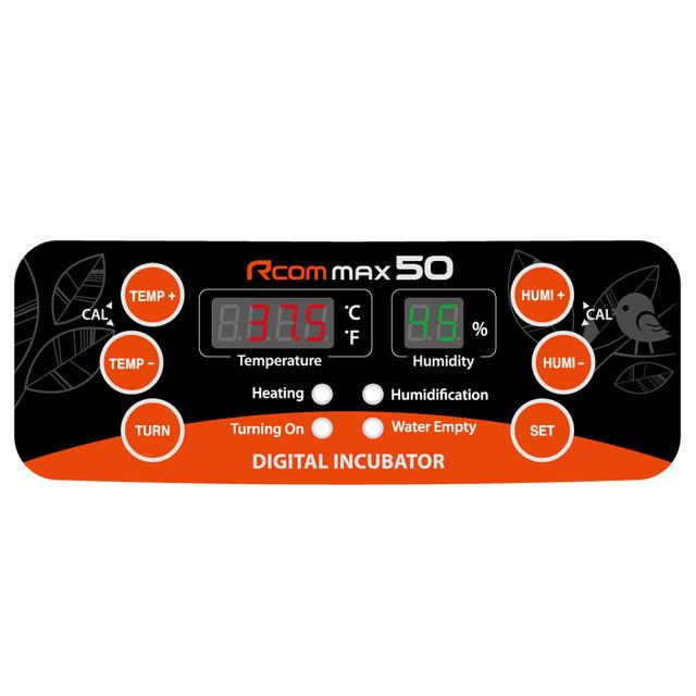 Инкубатор Rcom 50 MAX