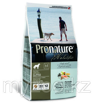 Pronature Holistic Adult All Breeds Пронатюр корм длясобак всех пород 340гр