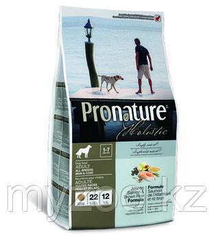 Pronature Holistic Adult All Breeds Пронатюр корм длясобак всех пород 13,6 кг