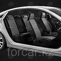 Чехлы модельные CHEVROLET CRUZE 2009+ черный/серый, фото 3