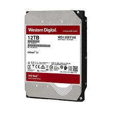 """Western Digital WD120EFAX Жесткий диск для NAS систем HDD 12Tb RED SATA3 3,5"""" 5400rpm 256Mb"""