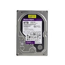 """Western Digital WD82PURZ Жесткий диск для видеонаблюдения HDD 8Tb Purple SATA 6Gb/s 256Mb 7200rpm 3,5"""""""