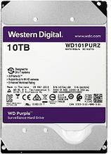 """Western Digital WD101PURZ Жесткий диск для видеонаблюдения 10Tb Purple Surveillance SATA 6Gb/s 256Mb 3,5"""" 7200"""