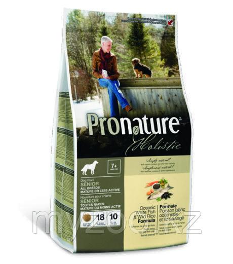 Pronature Holistic Senior All Breeds Пронатюр корм для пожилых собак всех пород 2,7кг