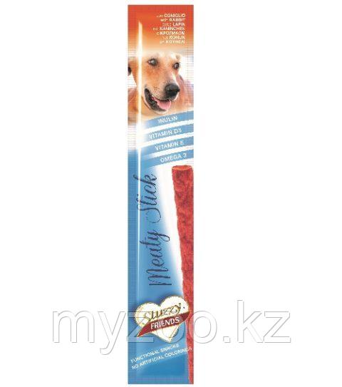 STUZZY FRIENDS  лакомства для собак  блистер  кролик 12 гр