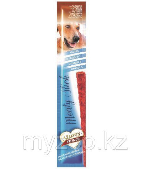 STUZZY FRIENDS  лакомства для собак  блистер  индейка 12 гр