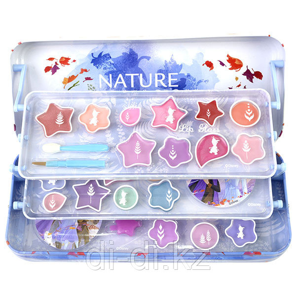 Markwins Frozen Игровой набор детской декоративной косметики в пенале больш.