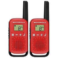 Радиостанции Motorola TALKABOUT T42 Red Twin Pack