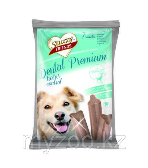 STUZZY FRIENDS Dental Premium  лакомства для собак от 12 кг   210гр