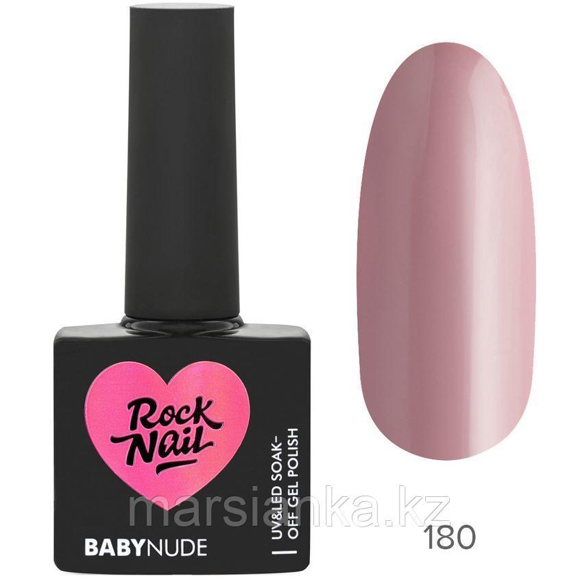 Гель-лак RockNail BabyNude #180 Angel's Breath, 10мл