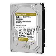 """Western Digital Gold WD6003FRYZ HDD 6Tb SATA3 3,5"""" 7200rpm 256Mb"""