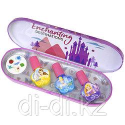 Markwins Princess Игровой набор детской декоративной косметики для ногтей в пенале мал.