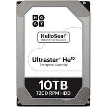 "Western Digital  HUH721010ALE604 Жесткий диск HDD 10Tb ULTRASTAR He10 256MB 7200RPM SATA3 3.5"""