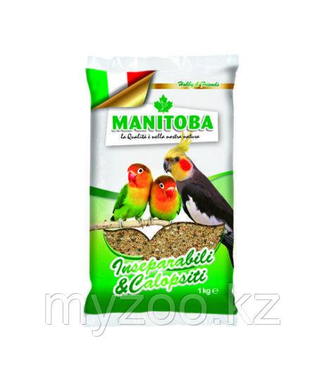 MANITOBA Манитоба корм для средних попугаев  1 кг