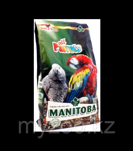 MANITOBA Манитоба корм для крупных попугаев  800гр