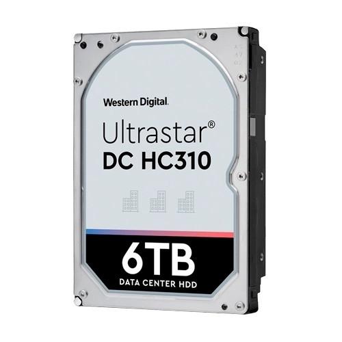 """Western Digital HUS726T6TAL5204 Жесткий диск HDD 6Tb HC310 256MB 7200RPM SAS 3,5"""" ULTRA 512E SE P3"""
