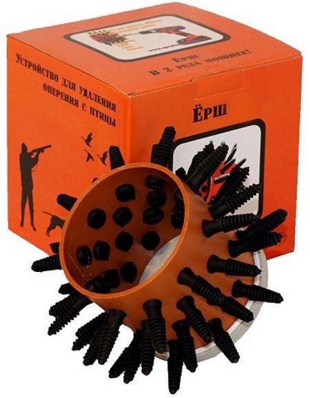 Насадка на дрель для ощипывания Ерш-2