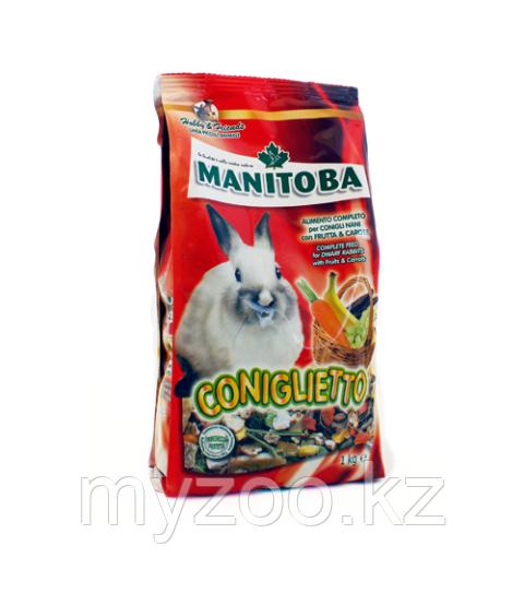 MANITOBA  CONIGLIETTO  корм для кроликов.  1 кг