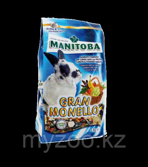 MANITOBA  GRAN MONELLO   корм для кроликов.  1 кг