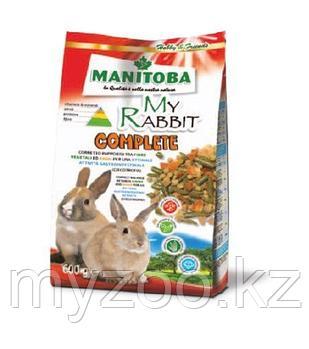 MANITOBA  MY RABBIT COMPLETE  Корм для карликовых кроликов 600гр