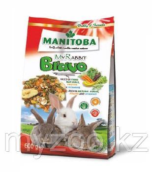 MANITOBA  MY RABBIT BRAVO    Корм для карликовых кроликов 600гр
