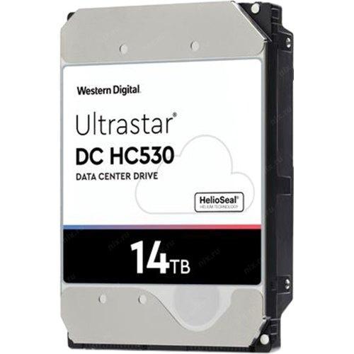 """Western Digital WUH721414AL5204 Жесткий диск HDD 14Tb HC530 512MB 7200RPM 3.5"""" SAS ULTRA 512E SE"""