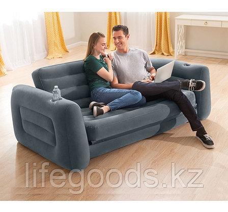 Надувной диван-трансформер Pull-Out Sofa Intex 66552, фото 2
