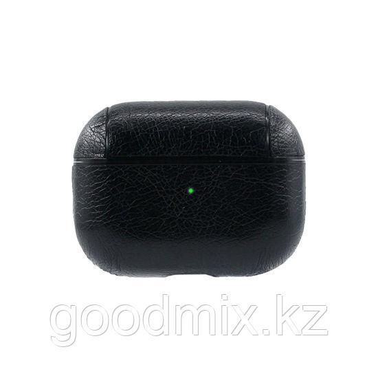 Чехол для Apple AirPods Pro (кожзаменитель черный)