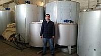 Резервуары и емкости для охлаждения, хранения и нагрева молока