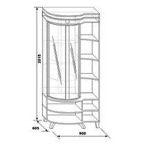 Шкаф с витриной «Л». Орфей 12., фото 2
