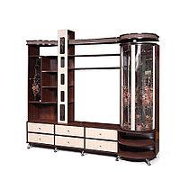 Шкаф комбинированный «С витриной П»